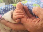 67岁产妇生女后靠母乳喂养 两姐妹差40岁