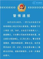 重庆男子跳桥自杀砸死过路老人,警方通报