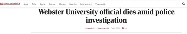 被警方与FBI搜查住所后,美国一大学孔子学院中方代表死亡