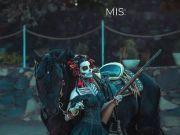 墨西哥小姐选美,各种华丽传统服饰,第一个就帅到我了!!
