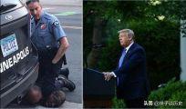 关于美国爆乱事件,如今美警察又屈膝下跪你怎么看?