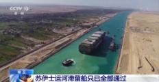 苏伊士运河肇事货轮被索赔10亿美元