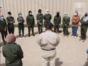 """40天培训后,伊拉克首支全女性排雷队""""武装""""上岗(图)"""
