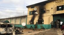 尼日利亚一监狱遭武装分子袭击 1844名囚犯逃脱