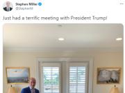 特朗普新办公室桌上疑放可乐,几天前他刚号召抵制