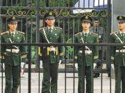 为何美国大使馆前站岗的是解放军?专家:全球只有解放军敢这么干