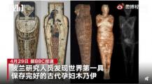 波兰发现2000年前孕妇木乃伊