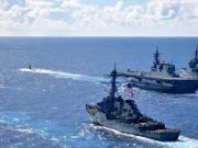 日美法澳四国在东海军演!遭中国直接打脸