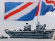 英国航母选了个糟糕的时机来南海 中国会很不高兴