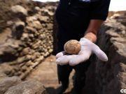 以色列考古学家发现一枚千年鸡蛋