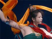 端午五彩洛神惊艳演绎水下飞天 网友:太美了 失去了语言