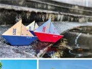 """同济大学录取通知书送3艘船:附带一份""""造船指南"""""""