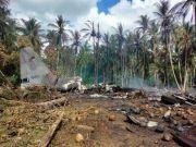 菲律宾军机失事 50 死 53 伤:坠毁前画面曝光