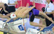 全国游泳争霸赛:汪顺获男子200米个人混合泳冠军