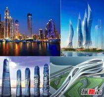 世界上最疯狂的建筑,烛火般闪动的迪拜风中烛火大厦