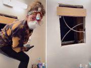 细思极恐!美国一女子觉得浴室有冷风 检查发现镜子后有另一间公寓