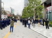 日本民众示威要求取消东京奥运会