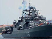 发威了!俄太平洋舰队在日本海发起导弹打击,模拟摧毁日本战舰!