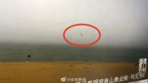 福建观音山一直升机坠海