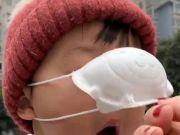 婴幼儿戴儿童口罩有窒息风险