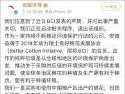 安踏:正启动相关程序 将退出BCI