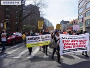 美国爆发亚裔反歧视大游行