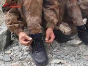 解放军新式体能训练鞋配发高原边防部队 官兵3000米体能测试快了20秒!