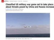"""美军将推出秘密战争游戏 模拟场景包括""""大陆攻台"""""""