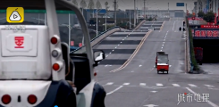 重庆现大波浪公路 开车如坐过山车