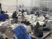 美国移民儿童收容点内部曝光:数百人挤塑料帐篷
